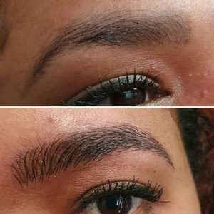 Semi-permanent makeup - microblading